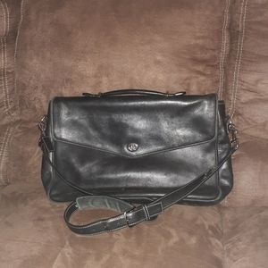 Coach Lexington Black Leather bag
